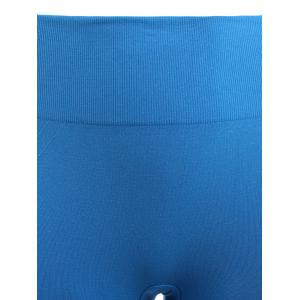 Skinny Sports Running Shorts - AZURE M