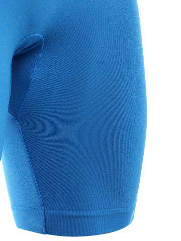 Affordable Skinny Sports Running Shorts - XL AZURE Mobile