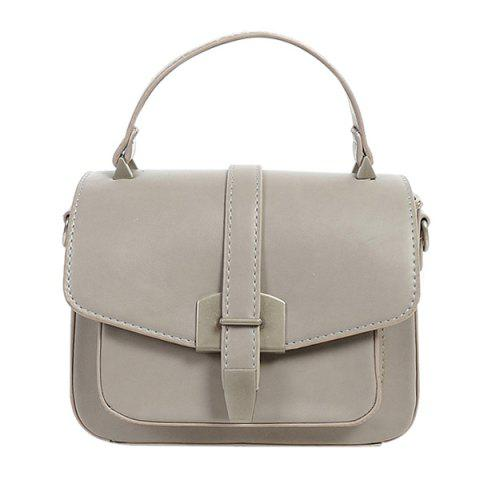Fashion Fashionable Covered Closure and Metal Design Crossbody Bag For Women