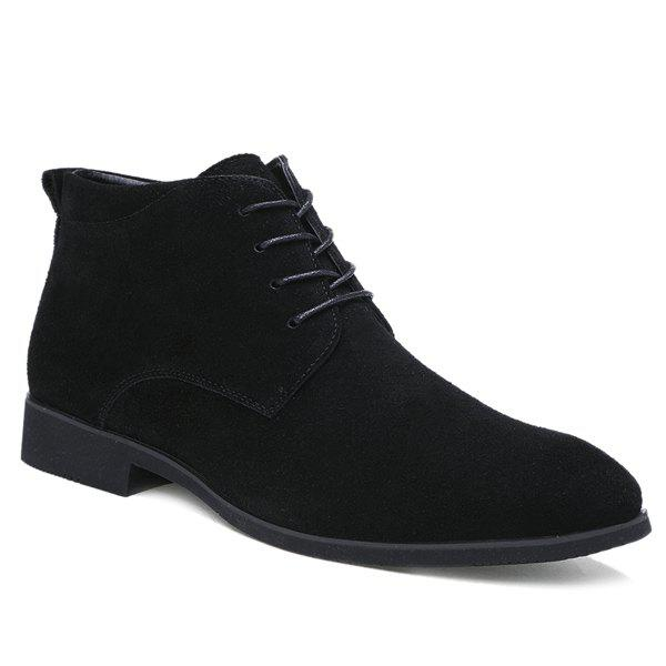 Latest Stylish Suede and Tie Up Design Casual Shoes For Men
