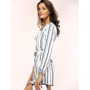 Stylish Long Sleeve Hollow Out Dress For Women -
