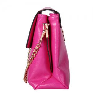 Chic Chain and Twist-Lock Design Shoulder Bag For Women -