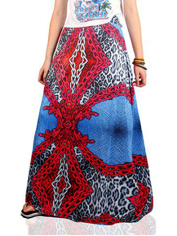 Cheap Ethnic Style Chain Pattern Skirt
