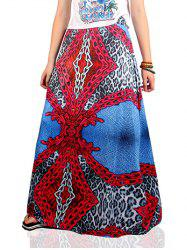 Ethnic Style Chain Pattern Skirt -