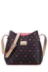 Vintage Graffiti Print Shoulder Bags