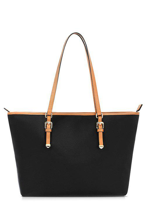 Hot Nylon Waterproof Black Shoulder Bag