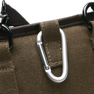Simple Splicing and Zipper Design Messenger Bag For Men -