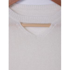 Fashionable RoundNeck Cut Out Knit Crop Top For Women -