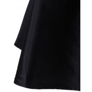 Elegant Sleeveless Party Black A-Line Dress -