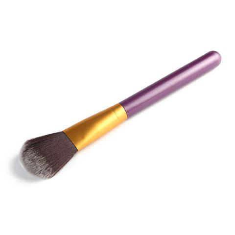 Stylish Soft Nylon Blush Brush - Purple