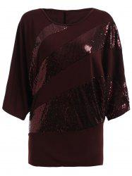 Sequin Embellished Loose Top