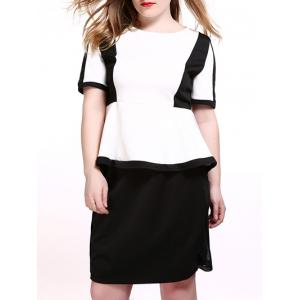 Plus Size Peplum T-Shirt
