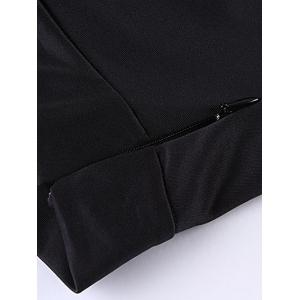 Plus Size Dovetail Skirt - BLACK 2XL