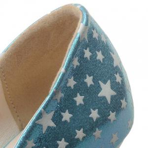 Stylish Platform and Star Pattern Design Peep Toe Shoes For Women -