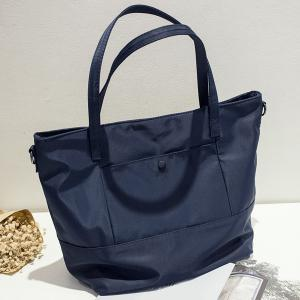 Simple Solid Color and Nylon Design Shoulder Bag For Women -