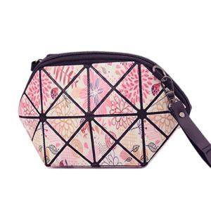Stylish Print and Geometric Pattern Design Clutch Bag For Women -
