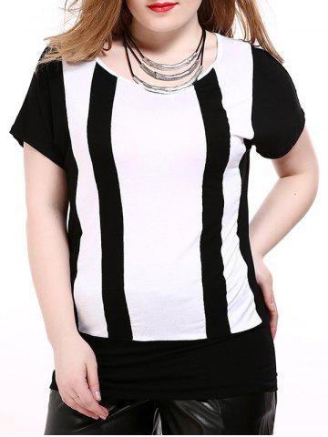Store Two Tone Plus Size T-Shirt