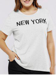 Plus Size New York Funny T-Shirt -