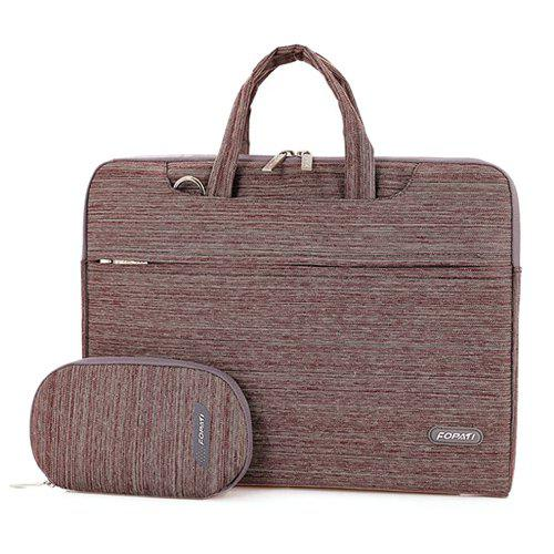 Casual Solide Couleur et Zippers design Laptop Bag For Men