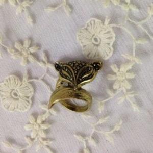 Retro Style Lovely Fox Ring -