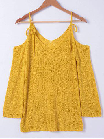 Online Fashionable Cold Shoulder Sweater For Women