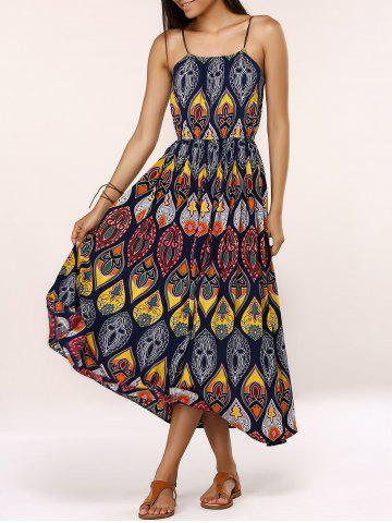 Store Ethnic Style Tribal Pattern Maxi Dress