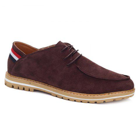 Shops Trendy Striped and Tie Up Design Casual Shoes For Men