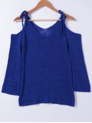 Fashionable Cold Shoulder Sweater For Women -