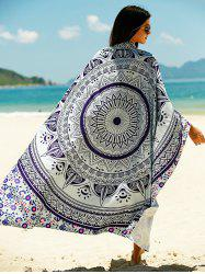 Tribal Pattern Sun Resistant Cover Up -