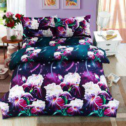 Hot Selling Romantic Cordate Telosma Print 4PCS Bedding Set