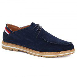 Trendy Striped and Tie Up Design Casual Shoes For Men