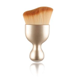 Stylish Goblet Shape Handle Wave Design Nylon Foundation Brush