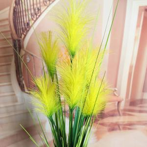 High Quality Home Party Decorative Fake Yellow Reed Artificial Flower - YELLOW