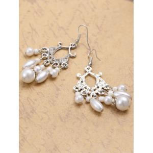 Pair of Artificial Pearl Earrings -