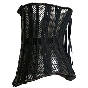 Chic Black Hollow Out Underbust Strapless Women's Corset -
