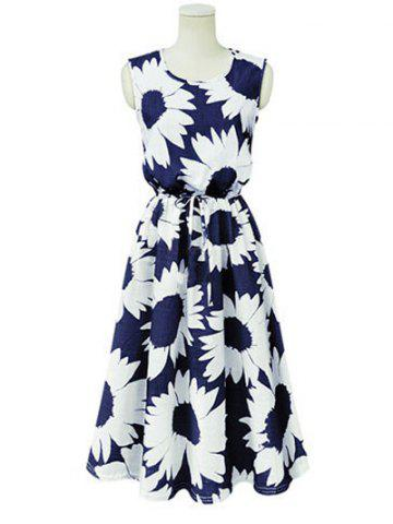Store Sweet Floral Print Strappy Dress
