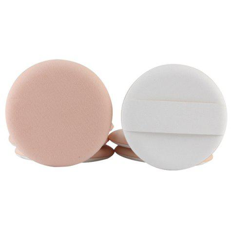 Buy Stylish 7 Pcs Round Dual-Use Dry and Wet Calm Makeup BB Cream Air Puffs - COMPLEXION  Mobile