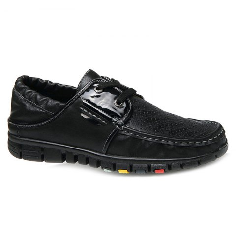 Unique Fashionable Breathable and Tie Up Design Casual Shoes For Men