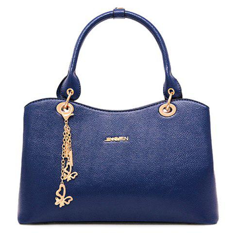 Online Graceful PU Leather and Chains Design Tote Bag For Women