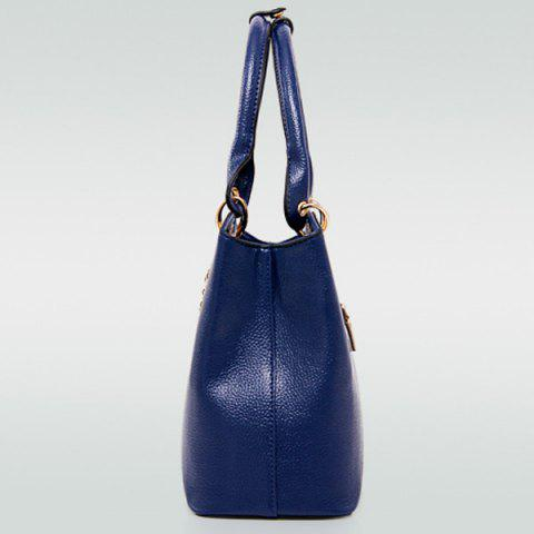 Unique Graceful PU Leather and Chains Design Tote Bag For Women - OFF-WHITE  Mobile