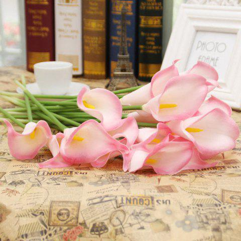 New Home Table Decor 1Pcs Artificial Calla Flower PINK