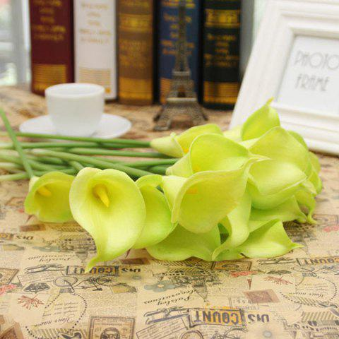 Home Decor de table 1Pcs Artificial Calla Flower - Vert