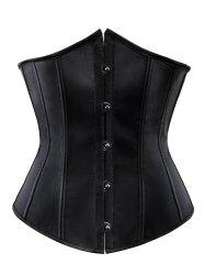 Pure Color Lace Up Women's Corset