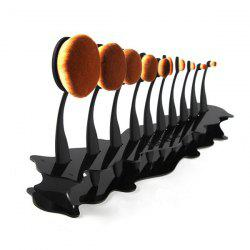 Stylish Detachable Brushtree Brush Holder Brush Display Stand
