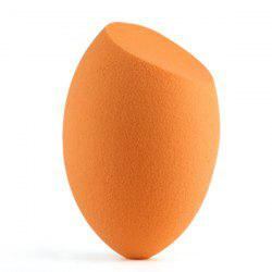 Stylish Bevel Cut Egg Shape Water Swelling Sponge Blender Powder Puff