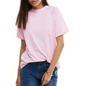 Candy Color Short Sleeve T-Shirt