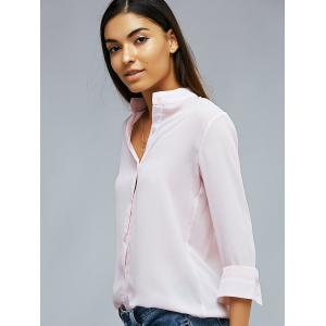 Long Sleeve Light Pink Shirt -
