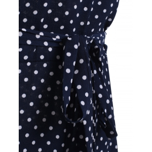 Sweet Women's Polka Dot High Waist Jumpsuit -
