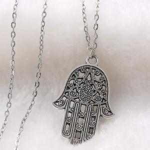 Vintage Hollow Out Hand Sweater Chain For Women -