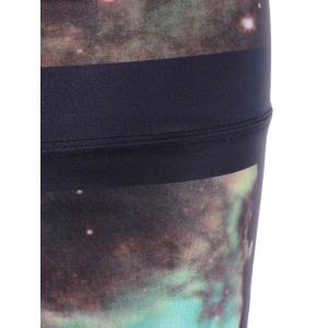 Galaxy High Stretchy Running Leggings - COLORMIX ONE SIZE(FIT SIZE XS TO M)